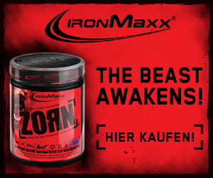 Trainingsbooster: Zorn - 480g
