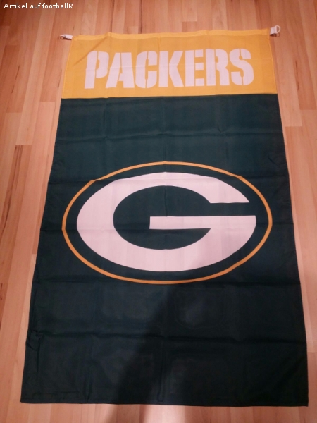 NFL Green Bay Packers Fahne NEU *Football*